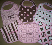 personalized baby layette