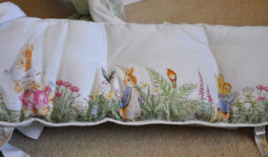 peter rabbit beatrix potter baby nursery crib bedding ensemble pottery barn kids bumper pad