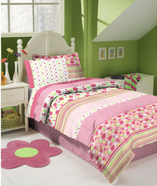 http://www.unique-baby-gear-ideas.com/images/pink-and-green-polka-dots-109.jpg