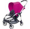 hot rose pink bugaboo bee baby stroller