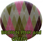 pink sage green and chocolate brown argyle nursery wall colors schemes pictures