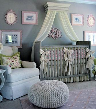 Pink And Grey Jungle Theme Baby Girl Nursery Ideas