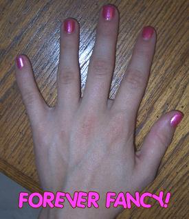 pink non toxic chemical free baby safe nail polish