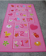 pink girls baby lime green yellow duck hearts butterfly nursery area rug