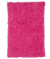 hot pink girls baby rectangle shaggy flokati shag pottery barn kids teen nursery area rug