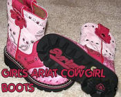 pink toddler girl fat baby cowgirl boots