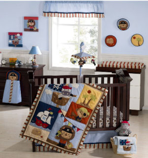 Pirate Bedding For The Crib To Complete The Baby S Nursery