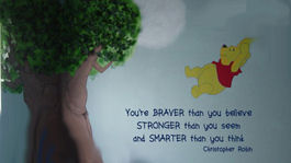 Winnie The Pooh Pictures and Wall Art for a Baby Nursery