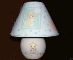precious moments nursery items table lamp