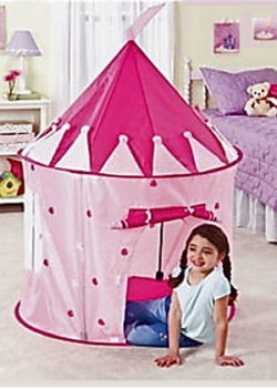 Pink Princess Castle Tents