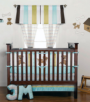 Puppy Dog Baby Nursery Theme Design And Decorating Ideas