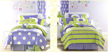 Purple and green comforter group picture image by tag