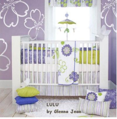Purple Baby Bedding Purple Nursery Themes Ideas