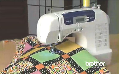 An inexpensive home quilting system might include a machine like this that can be bought for a very cheap price