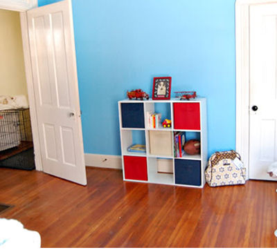 Red, White and Blue Baby Boy Nursery