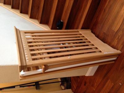 Morigeau Lepine 1900 Series Wooden Baby Crib