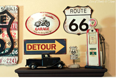 Vintage Cars Route 66 Baby Nursery Theme