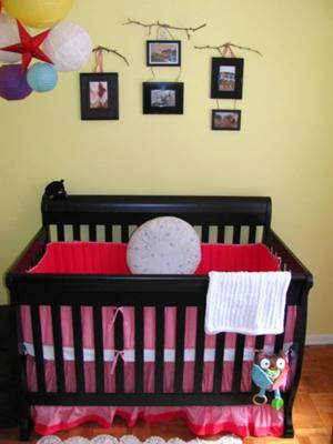 Red Crib Bedding and Baby Nursery Decorating Ideas