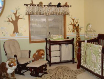 Safari Baby Nursery Ideas