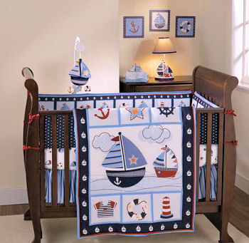 kids sailboat accessories bedroom wall decorations