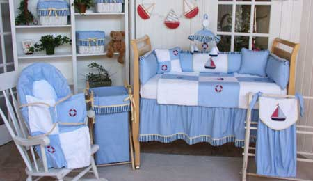 sailboat baby bedding set crib bedding nursery