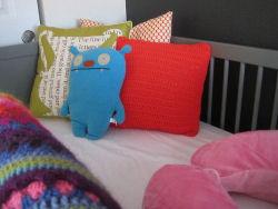 knit crochet homemade handmade baby crib blanket pattern afghan pillows