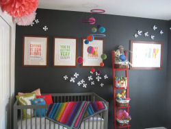 bold bright colors wall paint iron ore gray dark charcoal