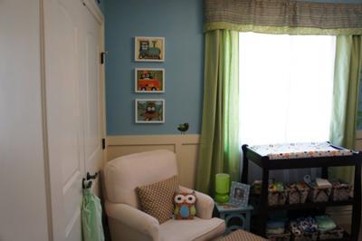 Sebastian S Owl Nursery Theme