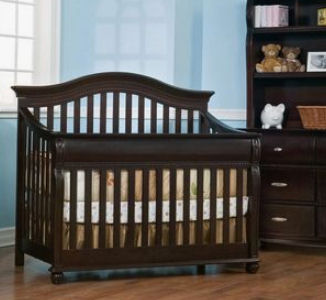 Simmons Juvenile Vancouver 4 in 1 convertible baby crib