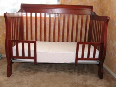 simplicity crib to toddler bed instructions 1