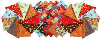 sock monkey fabric