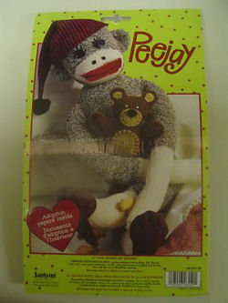 Sock monkey kit doll kit