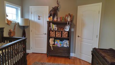 The baby's bookshelf