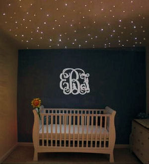 Star baby girl nursery theme ideas