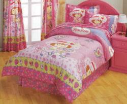 strawberry shortcake bedding comforter set