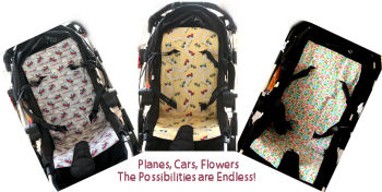 How to make your own DIY Homemade baby stroller liner from FREE sewing patterns and tutorials
