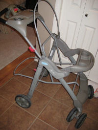 recover a baby stroller upholstery sewing pattern instructions