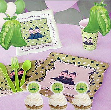 Sweet pea baby shower table decorations ideas sweet pea in the pod cupcakes