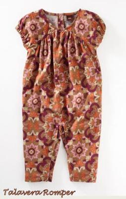 Tea Clothing Collection Rompers for Baby Girls Fall 2011