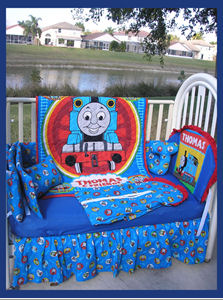 Thomas the Train Themed Nursery  Baby Boy Train Theme Baby Crib Bedding Set