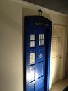 The TARDIS Door to the Nursery (It is bigger on the inside than it is on the outside.)