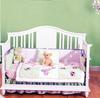 BSF Baby Addison 1700050 4 in 1 Convertible Crib WHT Assembled