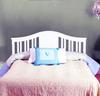 BSF Baby Addison 1700050 4 in 1 Convertible Crib WHT Conversion Converted