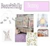 Bunny Baby Nursery Theme Design Inspiration Board