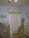 Giraffe and Safari Animal Nursery for Baby