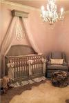 Pretty As A Princess Baby Girl Nursery Theme Room Design in Pink