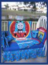 Thomas the Train Themed Nursery  Baby Boy Train Theme Baby Crib Bedding Set