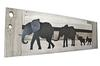 Parade of Elephants Twins Whitewash/Grey
