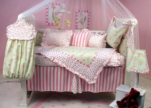 baby girl rooms. and aby girl pink nursery