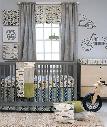 transportation cars trucks baby boy bedding crib nursery theme picture ideas decorating set